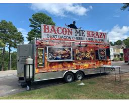 Bacon Me Krazy Food Trailer