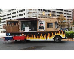 Casey's Big Dawg BBQ Barkmobile