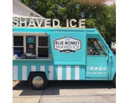 Blue Monkey Shaved Ice